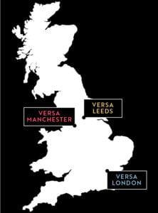 Versa UK map